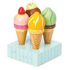 Le Toy Van Drevené zmrzliny set 4ks