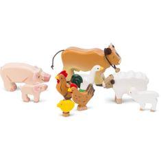 Le Toy Van Zvieratká z farmy set 9ks
