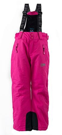 PIDILIDI dívčí kalhoty zimní lyžařské 98 růžová