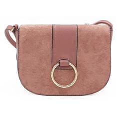 Růžová kabelka listonoška