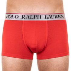 Ralph Lauren Pánské boxerky červené (714753035019)