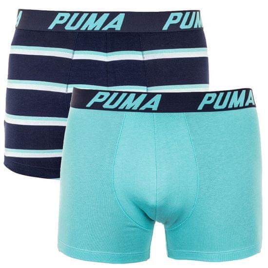 Puma 2PACK pánske boxerky viacfarebné (691001001 959) - veľkosť L