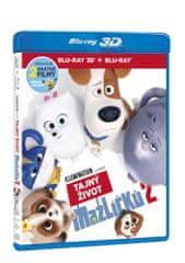 Tajný život mazlíčků 2 3D+2D (2 disky) - Blu-ray