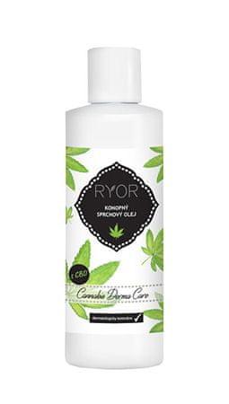 RYOR Konopný sprchový olej 200 ml