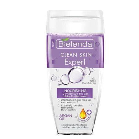 Bielenda Prof. Dvoufázový odličovač očí a rtů Clean Skin Expert (Nourishing 2-Phase Eye And Lip Make-Up Remover) 15