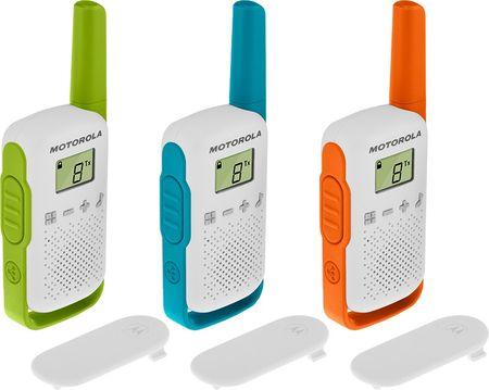 Motorola TLKR T42 Triple Walkie Talkie