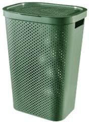 CURVER kosz na brudne pranie INFINITY 59 l zielony