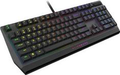 DELL klawiatura gamingowa Alienware AW510K, Cherry MX Low-Profile Red, US, czarna (545-BBCL)