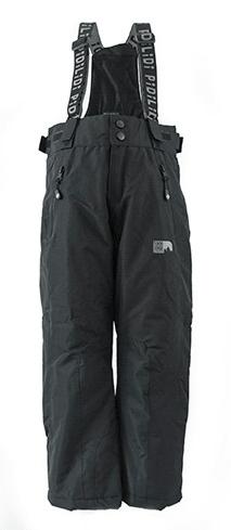 PIDILIDI dětské kalhoty zimní lyžařské 98 černá