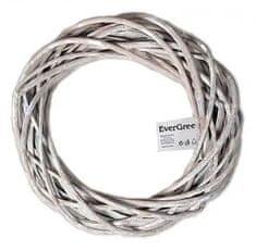 EverGreen pleteni vijenac 3, promjer 30 cm
