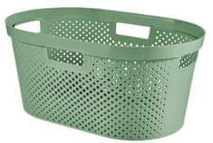 CURVER Koš na čisté prádlo INFINITY 39 l zelený