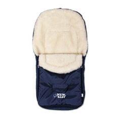 NEW BABY Zimný fusak New Baby Classic Wool blue Modrá