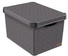 Curver Škatla za shranjevanje L Art Deco