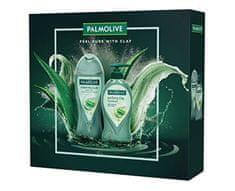 Palmolive Clay poklon set, gel za tuširanje + tekući sapun