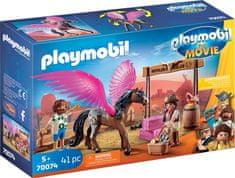 Playmobil Marla in Del s krilatim konjem (70074)