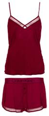 Calvin Klein dámske pyžamo QS6119E Cami / Short Sleep Set
