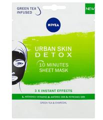 Nivea Nivea Urban Skin (10 Minutes Sheet Mask) sheet maska za lice, 1 komad