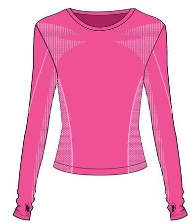 R2 funkciós lány póló ATF304A, 6, rózsaszín
