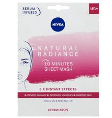 Nivea Nivea Urban Skin Natural Radiance sheet maska za lice (10 Minutes Sheet Mask)