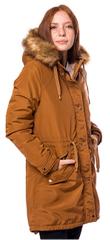 Heavy Tools Dámska bunda ktorom Cinnamon W19-250