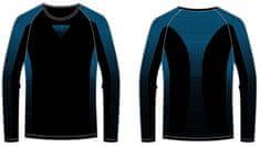 R2 funkcionalna majica za dečke ATF307A, črna/modra