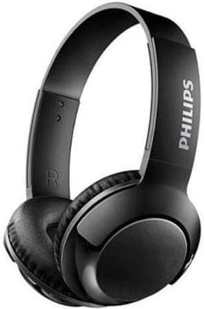 Philips słuchawki bezprzewodowe SHB3075, czarne