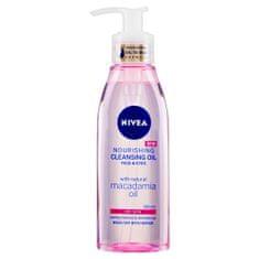 Nivea Cleansing Oil negovalno čistilno olje za obraz in oči, za suho kožo, 150 ml