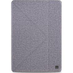 UNIQ zaščitni flip ovitek Yorker Kanvas Plus iPad Air (2019) (UNIQ-NPDAGAR-KNVPGRY), Velvet Mist siv