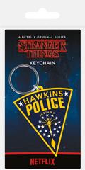 Stranger Things Přívěsek na klíče Stranger Things - Hawkins Police