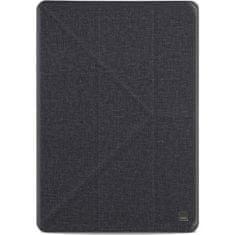 UNIQ zaščitni flip ovitek Yorker Kanvas Plus iPad Air (2019) (UNIQ-NPDAGAR-KNVPBLK), Obsidian Knit črn