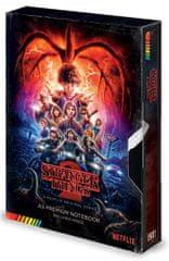 Stranger Things Blok A5 Stranger Things 2 - VHS