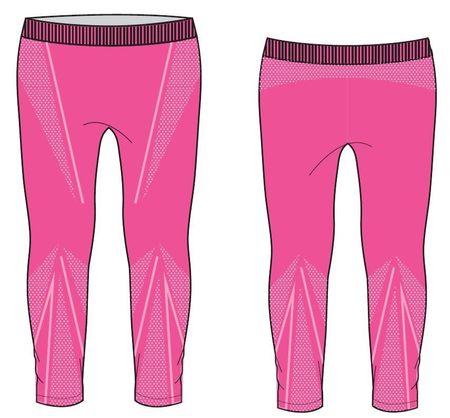 R2 Funkciós lány hosszú nadrág, rózsaszín, 10-12Y