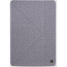 UNIQ ovitek Yorker Kanvas Plus iPad Pro 11 (2018) (UNIQ-NPDP11YKR(2018)-KNVPGRY), Velvet Mist siv