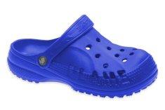 Dětské clogsy FLAMEshoes D-3006 modré