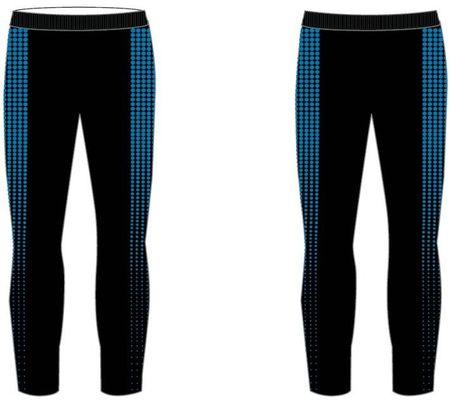 R2 fantovske dolge funkcionalne hlače, 6, črno-modre