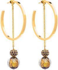 Preciosa Luxusné náušnice s vinutými Perlou Ribes 7349Y21