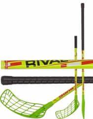 Sona Florbalová hůl Sona Rival 95cm pravá zelená/žlutá