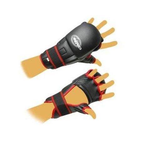 EFFEA Rukavice Kung-fu PU597 EFFEA velikost L, M, S, XL červeno/černé