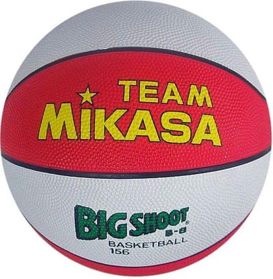 Mikasa Míč basketbalový MIKASA BIG SHOOT B-6 červeno/bílý