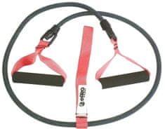 EFFEA Posilovač Elastické lano s úchopy