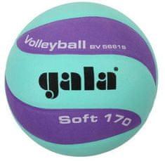 Gala Míč volejbal SOFT 170g BV5681SCF ZELENO/FIALOVÝ GALA