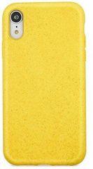 Forever Zadní kryt Bioio pro iPhone XR žlutý, GSM093961