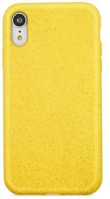 Forever etui ochronne typu plecki Bioio dla iPhone XS Max żółte, GSM093962