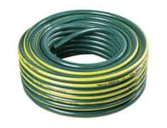 """Gardenie hadice 1/2"""" zelená se žlutými pruhy, černá duše 25 m"""
