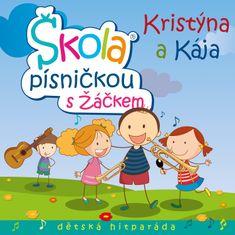 Kristýna a Kája: Škola písničkou s Žáčkem - CD