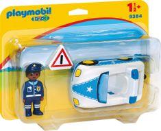 Playmobil policijski avto (9384)