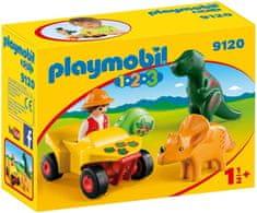 Playmobil raziskovalec z dinozavroma (9120)