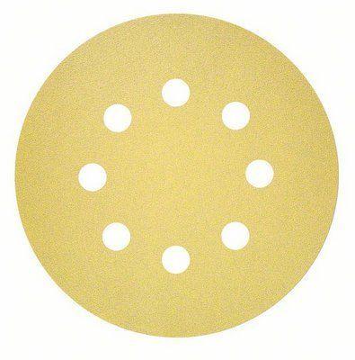 BOSCH Professional C450 brusilni list, večnamenski, G80, 125 mm, 8 lukenj (2608621741)