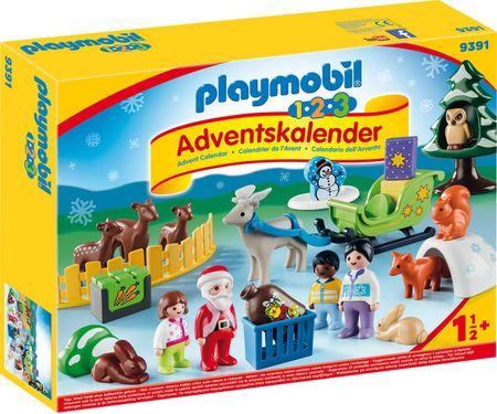 Playmobil Božič v gozdu, adventni koledar (9391)
