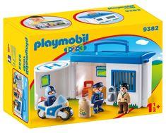 Playmobil prenosna policijska postaja (9382)